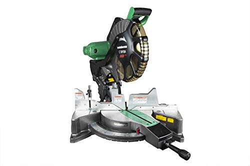 Metabo HPT 12-Inch Compound Miter Saw, Laser Marker System, Double Bevel, 15-Amp Motor, Tall...
