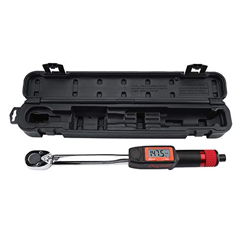 """1/2"""" Digital Torque Wrench, Portable Torsion Wrench Spanner Hand Tool with LCD Display and Storage..."""