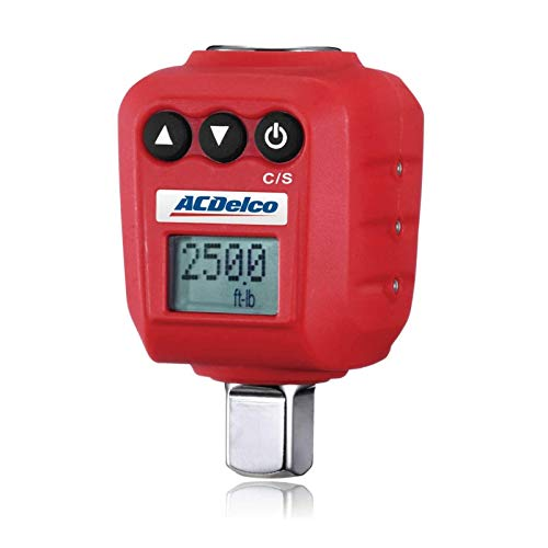 """ACDelco ARM602-4A 1/2"""" (25 to 250 ft-lbs.) Heavy Duty Digital Torque Adapter with Buzzer and LED..."""