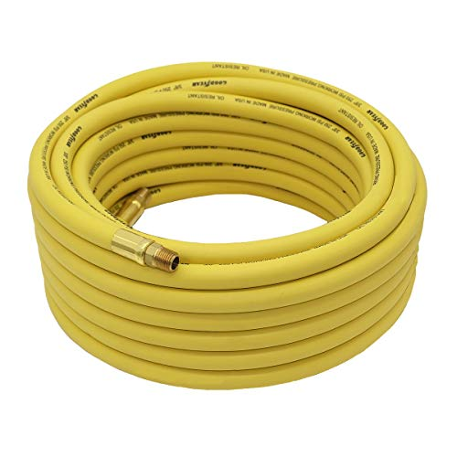 Goodyear 50' x 3/8' Rubber Air Hose Yellow 250 Psi
