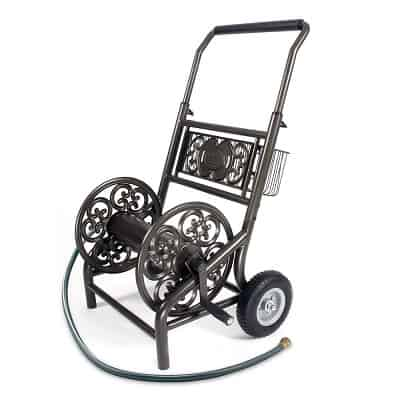 Liberty Garden 301 Decorative Garden Hose Reel Cart